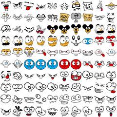 100 Comic Faces