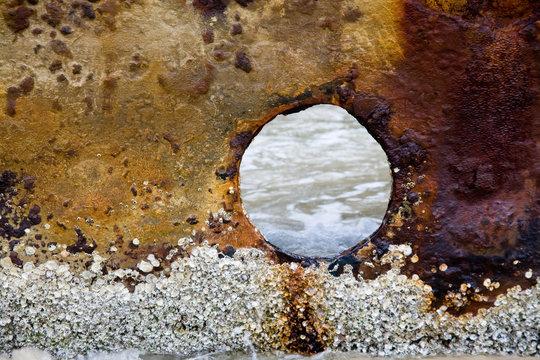Shipwreck Close Up