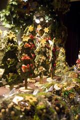 Fototapeta świąteczne choinki obraz