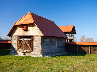 Old countryside barn in Romania - see the whole series
