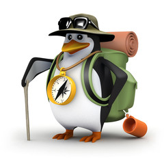 3d Intrepid Penguin goes forth