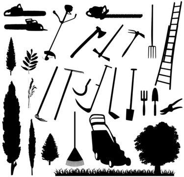 matériel jardinage