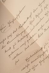 Alter Brief in Sütterlin Schreibschrift