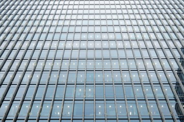 Steel and Glass Office Building