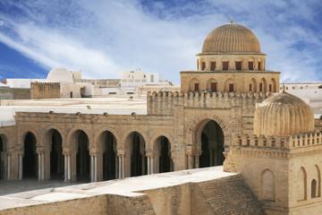 Keuken foto achterwand Tunesië Great Mosque of Kairouan - famous Tunisian landmark