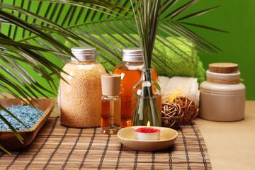 Spa, Soap and natural oils