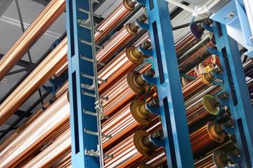 Zylinderstapler in einer Tiefdruckerei