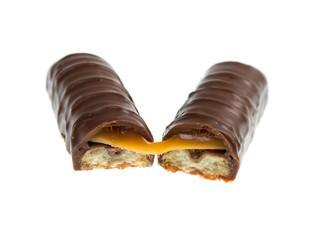 Chocolate bar isolated