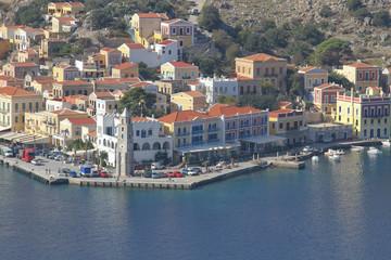 Der Hafen von Symi