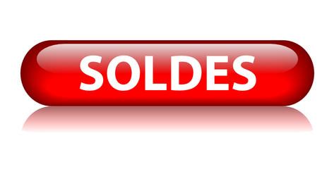 Bouton Web SOLDES (vente spéciale prix shopping offre spéciale)