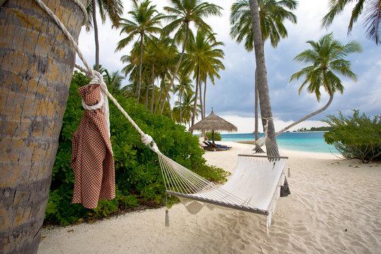 Hammock in Maldives