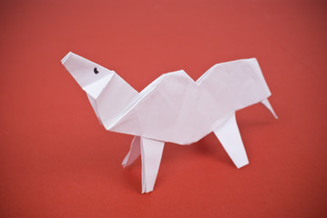 Camel out of paper