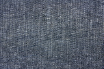 Texture of jeans cloth background.