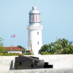 lighthouse, San Pedro de la Roca Castle, Santiago de Cuba Provin