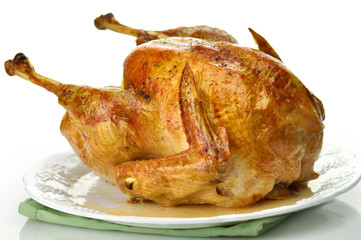 Traditional home roasted turkey
