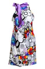 Silk women's light summer dress