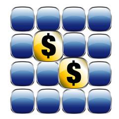 Dollar Symbol Memory