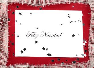 Christmas Card Feliz Navidad