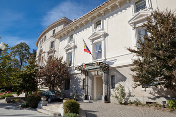 Philippines Embassy Washington DC Italianate Renaissance Style