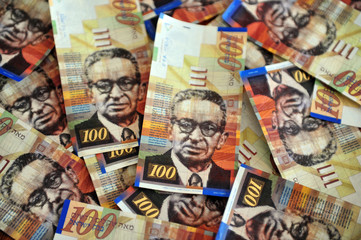 One Hundred Shekel Bills