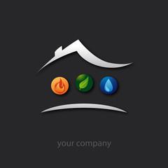 logo entreprise, plombier