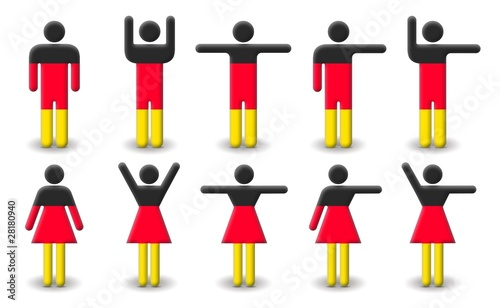 German Malefemale Symbols Stock Photo And Royalty Free Images On