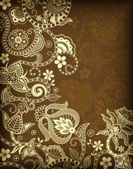 Floral Texture Background