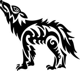 Wolf.Tribal Animals.