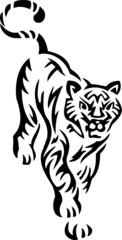 Tiger.Tribal Animals.