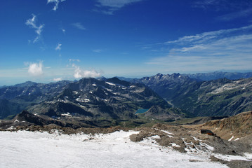 landscape from monte rosa