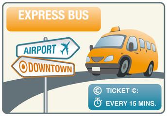 Express bus wallpaper