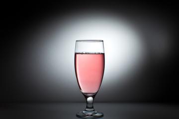 Bicchiere da cocktail in cristallo illuminato