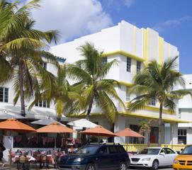 Ocean Drive, Miami Beach, Art Deco style, USA