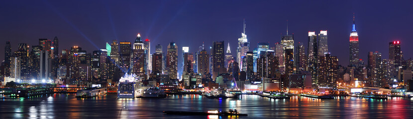 Fotomurales - New York City skyline panorama