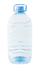 large bottle with water
