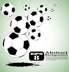 the vector abstract soccer background eps 8