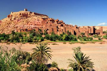 In de dag Marokko Ouarzazate Marocco città set del film Il Gladiatore