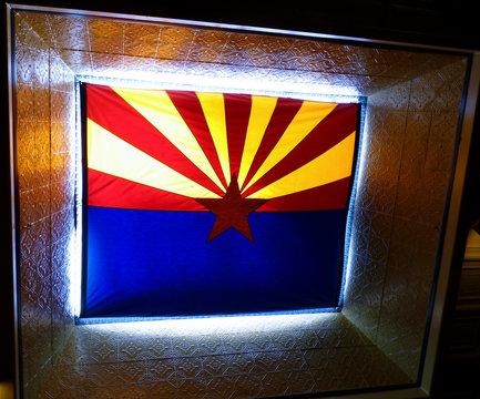 Sunlit AZ State Flag