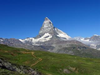 Swiss beauty, majesty Matterhorn