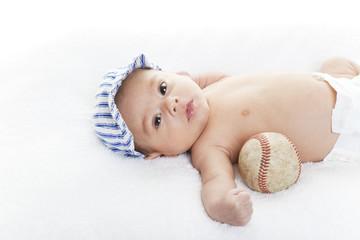 Baby Baseball Player