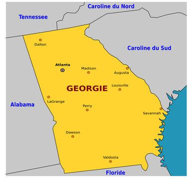 USA - Géorgie