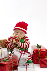 Babys First Christmas Eating Present