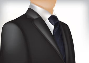 Man in suit at the office