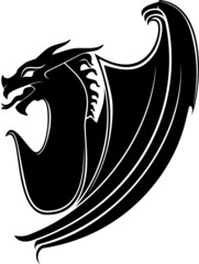 Drachen/Tribal/Symbol