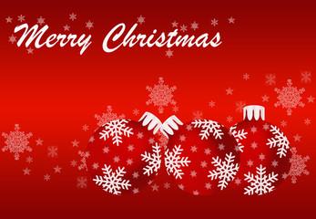 Christmas card photos royalty free images graphics vectors weihnachtskarte mit roten kugeln m4hsunfo