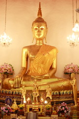 image gold of buddha