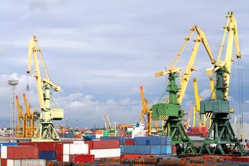 St Petersburg Docks