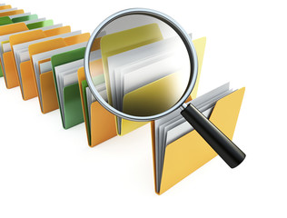 folders search
