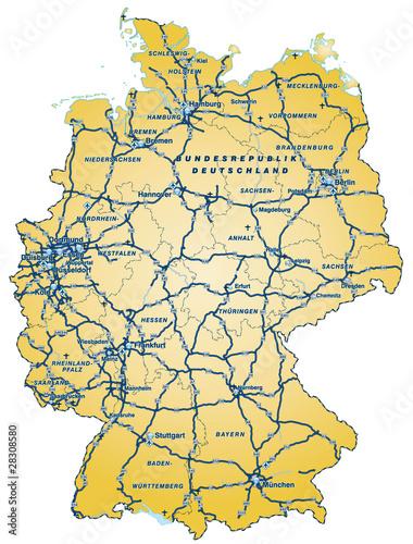 Liste der Bundesautobahnen