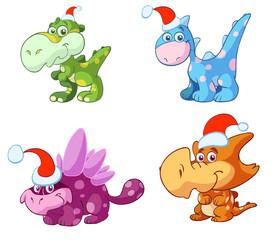 christmas baby dino's